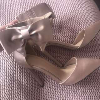 ASOS pink high heels