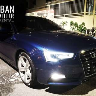 Audi A5 sportback Open for rent