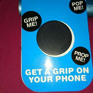 Pop Socket Hitam - Free Ongkir up to 15rb (min. Pembelian 100rb)