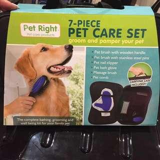 (NEW) 7-Piece Pet Car Set