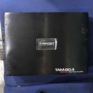 Target audio TAM-80.4