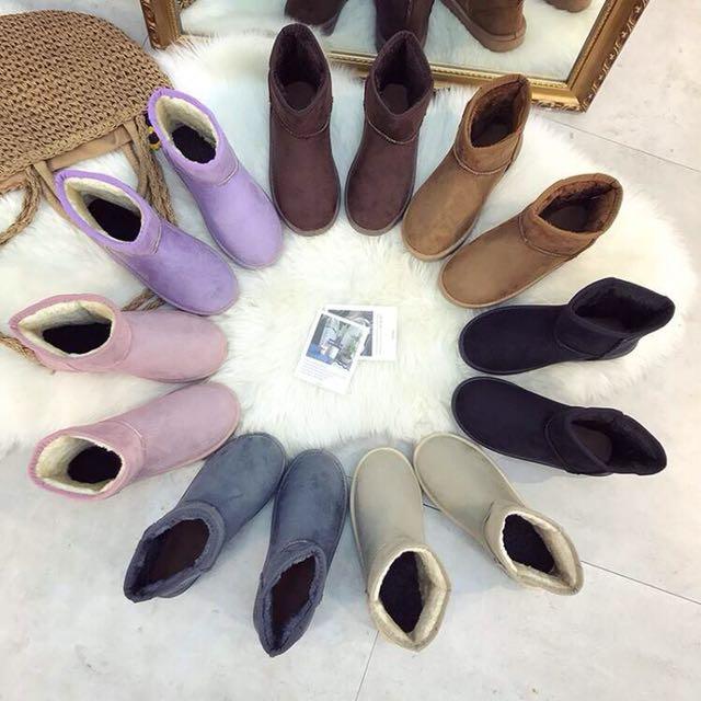 13 秋冬基本款加厚保暖棉靴