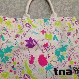 *Price Lowered* TNA canvas tote