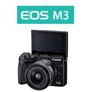 🛒Canon EOS M3 Camera With 15-45mm Lens