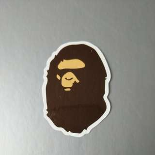Bape, CDG & Mcdonalds Stickers