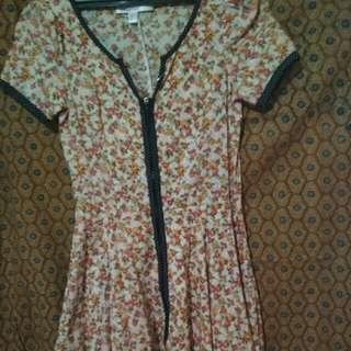 "Floral dress ""For Miss"""