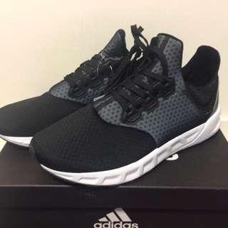 愛迪達 ADIDAS FALCON ELITE 5 M 黑銀 輕量 襪套 透氣網布 休閒鞋 慢跑鞋