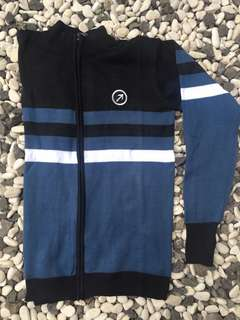 Jaket Sweater Black Blue