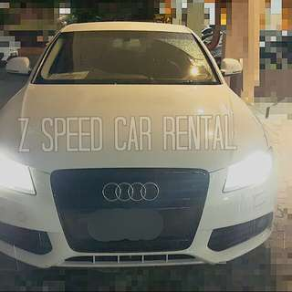 Audi A4 ready for rent