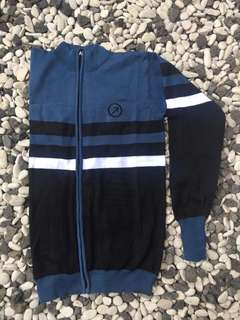 Jaket Sweater Blue Black
