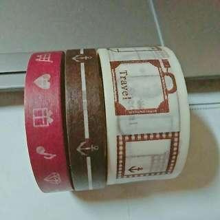 紙膠帶組(誠品購入)