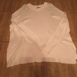 H&M Light Pink Knit Sweater