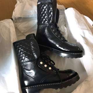 Chanel 2017秋冬最新款boot