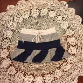 二手Ralph Lauren 女童灰藍褲裙