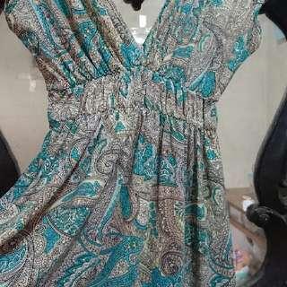 REPRICE!!! 👗 Dress Motif Cantik