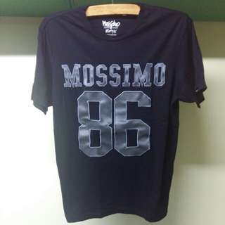 Mossimo T Shirt with Leather-like Appliques