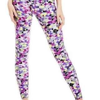 Lorna Jane multicoloured tights XS