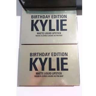 Kylie cosmetics Birthday edition mini's