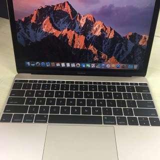 "Macbook 12"" 2015 gold."