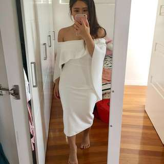 Pasduchas Composure Midi Dress Size 8 BNWT