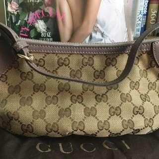 Gucci緹花手提包