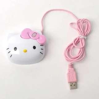 HELLO KITTY  USB Optical Mouse