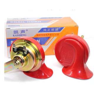 12V Snail Air-Horn with Relay Harness