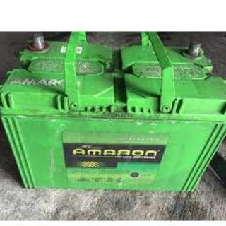 Amaron Used / Old battery (w/ Warranty) Scrap cars