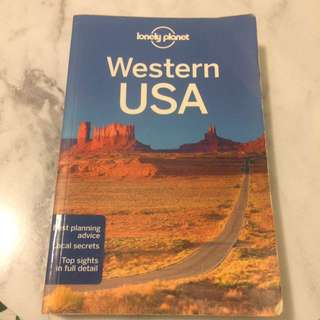 Lonely Planet - Western USA 2nd edition