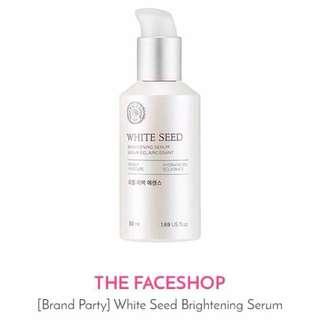 The Face Shop Brightening serum