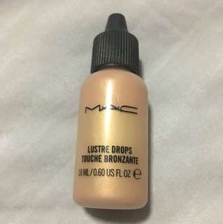 MAC Lustre Drops - pink Rebel