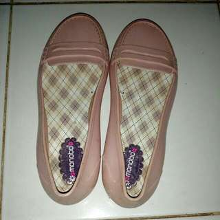 (Take All) preloved monobo jelly shoes & barabara jelly sandal