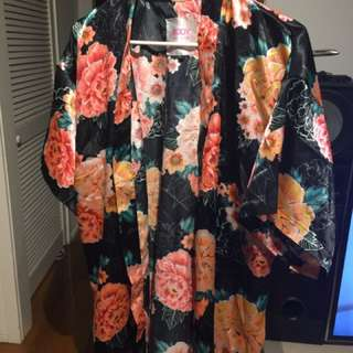 Cotton body robe size S/M