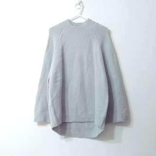 Mooncat 小立領針織上衣毛衣