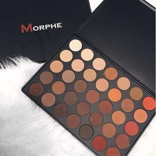 ❄️ Morphe ❄️ 350M - 35 Color Matte Nature Glow Eyeshadow Palette