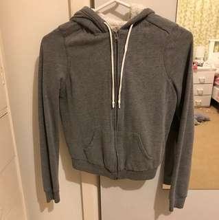 hollister grey jacket