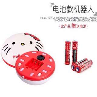 Hello Kitty Cleaner Robot Vacuum Clean Robot Mini Robot Vacuum Cleaner Sweeping Circle Clean Intelligent Vacuum Cleaner Sweeping Robot