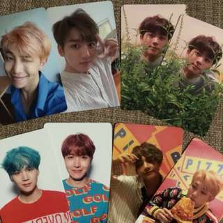 BTS Love Yourself Photocard