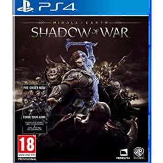 "Sale shadow of war ""rushhh"""