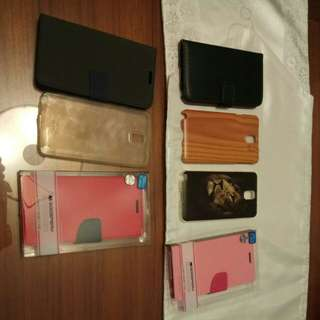 Samsung galaxy note 3 casings ( all for 10 dollars)
