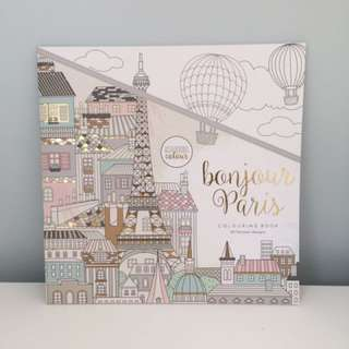 Kaiser Colour - 'Bonjour Paris' Colouring Book