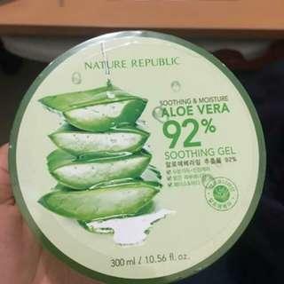 Free Ongkir!! Nature Republic Aloe Vera 92% shooting gel