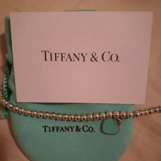 Tiffany and co bracelet authentic