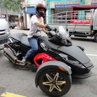 Seeking for Used Can-Am Spyder!
