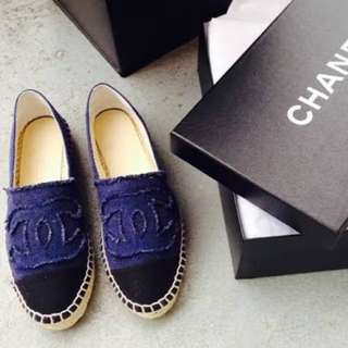 Chanel Espadrilles Denim