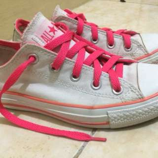 Converse Chuck Taylor Neon Pink/White