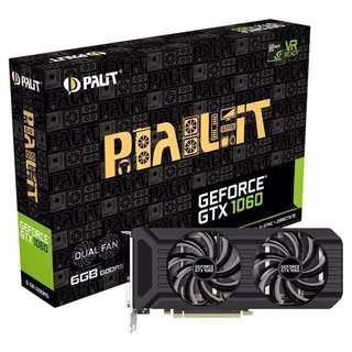 Palit Dual GTX 1060 6GB