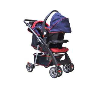 Enfant heavy duty stroller and carseat