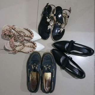 Heels and sandals. Take all for 1k php