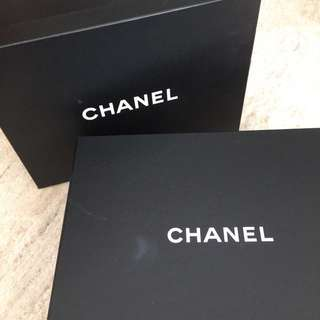 Chanel Shoe Box with Shoe Dust Bags